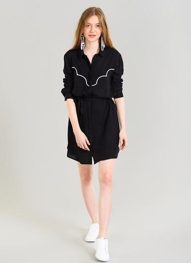 Nakış Detaylı Elbise-Agenda
